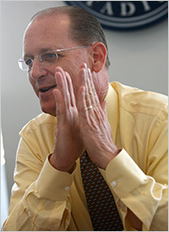 Photo of Richard Anderson by Librado Romero at The New York Times